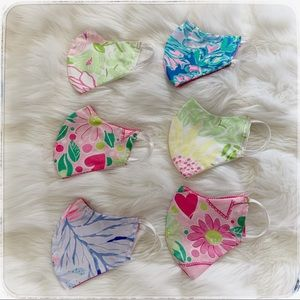 Other - Lilly Pulitzer kids face mask, handmade